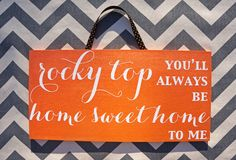 Tennessee Vols // Rocky Top Sign // Wall by ShopAdorableAccents