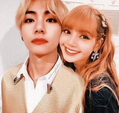 Kpop Couples, Blackpink And Bts, Papi, Taehyung, Jimin, Daddy, Idol, Photoshop, Fan Art