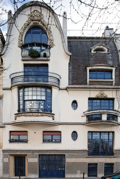 'Follot House', Private Mansion designed by the architect Paul Follot in 1912~1914, 5 rue Schoelcher, Paris XIV