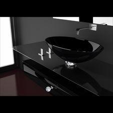 Bathroom SinkCorner Bathroom Vanity Modern Vessel Sinks Trough Sink - Modern bathroom sinks for sale