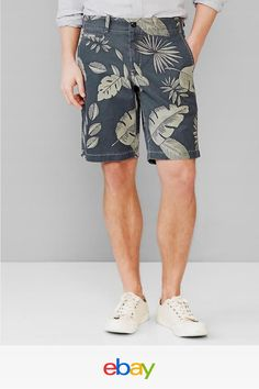 991d59d4 NWT GAP Men's Lived-in Palm Print Shorts 10