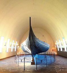 [052] Oslo, Norway | The Viking Ship Museum - this is a super cool museum, highly recommended if you ever go to Oslo. (Keri)