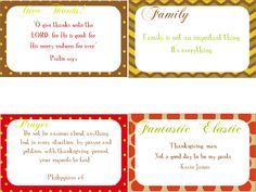 Free Printables - Bible Verse Cards