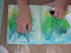 #papercraft #artjournaling #tutorial ▶ Aug Kit - Art Journal Tutorial - YouTube