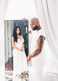 Joe Budden & Cyn Santana Are Having a Baby, Share New Photoshoot Cute Maternity Outfits, Pregnancy Outfits, Maternity Pictures, Pregnancy Photos, Maternity Fashion, Maternity Shoots, Cyn Santana, Pretty Pregnant, Beautiful Pregnancy