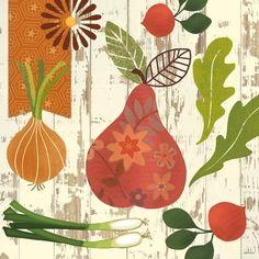Let It Grow Pear by Jennifer Brinley   Ruth Levison Design