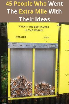 An idea might sound really simple that it makes a person believe it is not worth their energy to create, but that would be false. So many simple ideas turn out to be live savers for so many people. We have compiled a list of 45 ideas that are such simple solutions but also totally ingenious. They range from book vending machines, actual life-saving nail polish, to functional phone chargers and coffee lids. Come take a look at these 45 brilliant ideas and pick which one would be the most life…