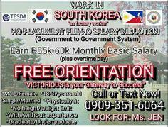 Facemuk: Job Opening in South Korea, Factory Worker, Free O...