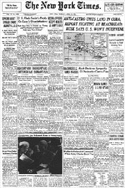 On April 17, 1961, about 1,500 CIA-trained Cuban exiles launched the disastrous Bay of Pigs invasion of Cuba in a failed attempt to overthrow the government of Fidel Castro.