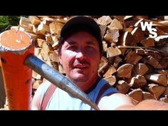 A Different Way To Stack Firewood - http://www.gottagodoityourself.com/a-different-way-to-stack-firewood/