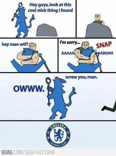 Chelsea fc suck