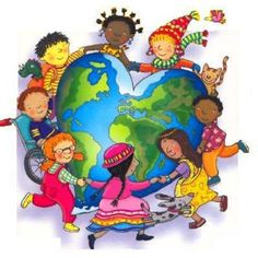 Jesus Loves All the Children of the World School Clipart, Operation Christmas Child, World Crafts, International Day, Cultural Diversity, We Are The World, World Cultures, Sunday School, Social Studies