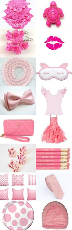 Shades of Peaceful Pink  by HallieMar CandyBar on Etsy--Pinned+with+TreasuryPin.com Shades, Peace, My Love, Pink, Etsy, My Boo, Hot Pink, Sunglasses, Pink Hair