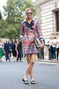 Olivia Palermo arriving at an event in London. See all of the model's best looks.