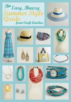 The Easy, Breezy Summer Style Guide from @Carla Costephens Plus World Market
