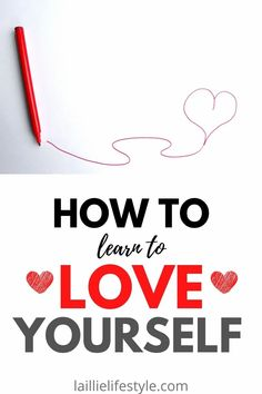 "How to learn to love yourself. Are you tired of being insecure? Do you regularly ask yourself ""how can I learn to love myself?"" Then follow these nine tips on how to learn to love yourself. Once implement these nine ways to learn to love yourself you will become more confident in no time. To really succeed in life you need to learn to love yourself first. Learning To Love Yourself, Love Yourself First, Love You Unconditionally, Learn To Love, Insecure, Best Self, Just Giving, Self Development, Self Care"
