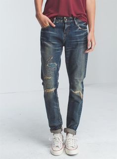 point-girlfriend-fit-japan-780 - Denim - Shop woman - DENHAM b8b0b38dd3