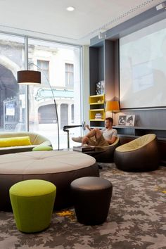 29 Best Ligne Roset Installations Images Architecture Chairs - The-ottoman-from-ligne-roset