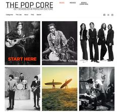 Pop culture reference web site