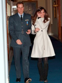 Prince William And Kate Middleton pictures - Catherine and William in Lincolshire, 2008 - Woman And Home