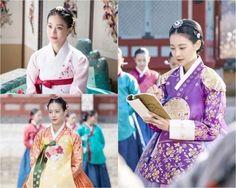 Oh Yeon Seo in hanbok