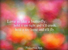 Love is like a butterfly #relationships #contest #talktala