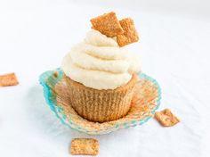 Cupcakes de Cinnamon Toast Crunch™ - QueRicaVida.com #BTFE