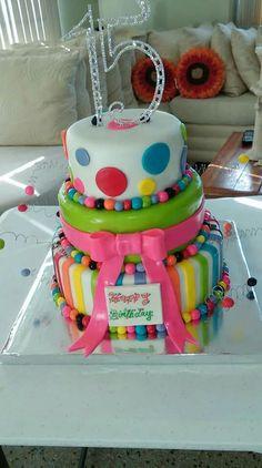 Torta para quinceañeras
