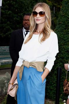 Rosie Huntington Whiteley Chloe Show Paris Spring Summer 2015