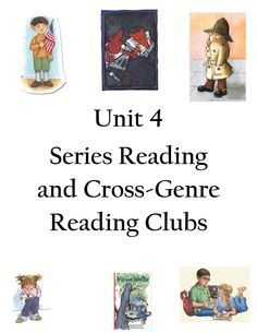 How do characters change and grow across stories in a series? Check it out in this unit found at teacherspayteachers.com