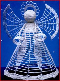 Crochet angels.