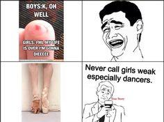 Exactly. Funny Dance Quotes, Dance Moms Memes, Dancer Quotes, Ballet Quotes, Dance Humor, Dance Photos, Dance Pictures, Flexibility Dance, Dancer Problems