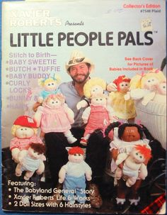 CABBAGE PATCH Kids DOLL Sewing Pattern Little People Pals Xavier Roberts