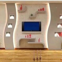 Charming ديكورات الجبس العصري المغربي   اشغال الجبس والديكور المنزلي Placoplatre  Plafond, Deco Platre, Plâtre