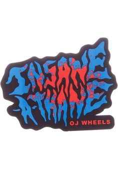 OJ-Wheels Insane-a-thane-Decal - titus-shop.com  #Misc. #AccessoriesMale #titus #titusskateshop