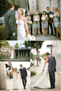 Great examples of bridal party photos