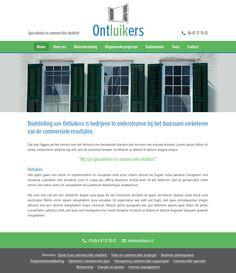 Website en huisstijl ontwerp voor http://www.ontluikers.nl/ September 2014