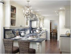 galley kitchen with island images | The Gallery of Galley Kitchens Modern | The Kitchen Dahab