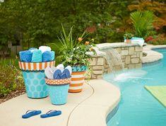 pot-de-fleur-exterieur-poterie-extérieur-piscine-aigue-marine