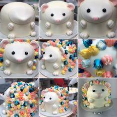 Hedgehog Cake, Hedgehog Birthday, Pretty Cakes, Cute Cakes, Fete Audrey, Sloth Cakes, Sculpted Cakes, Animal Cakes, Cute Desserts