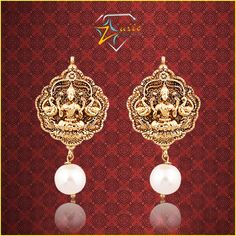 These gorgeous pair of temple jewellery earrings will make you the star of the evening! ‪#‎jewellery‬ ‪#‎love‬ ‪#‎templejewellery‬ ‪#‎earrings‬ ‪#‎amazing‬ ‪#‎beautiful‬ ‪#‎zurie‬