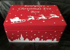 SpecialKeepsake15 tarafından Kişiselleştirilmiş Noel arifesi Kutusu Depolama Eğlence