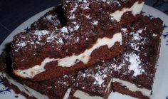 Drobenkový kakaový koláč s tvarohem - recept. Přečtěte si, jak jídlo správně připravit a jaké si nachystat suroviny. Vše najdete na webu Recepty.cz. Food And Drink, Canning, Desserts, Drinks, Tailgate Desserts, Drinking, Deserts, Beverages, Postres