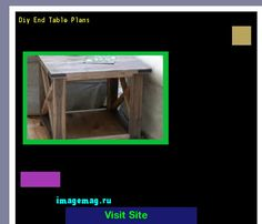 Diy End Table Plans 075042 - The Best Image Search