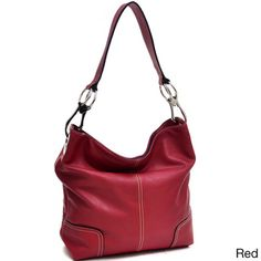 Patched Corner Hobo Bag | Overstock.com Shopping - Great Deals on Hobo Bags