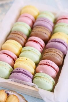 love these colors! #Macaroons