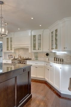 Smith S Residence Traditional Kitchen Other Metro Yourstyle Kitchens Ltd Maybe Diffe Depths Instead Of Heights