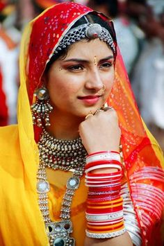 Costumes of Rajasthan by Desert_photographer, via Flickr