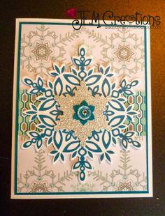 J.E.M. Creations: November Stamp Club Christmas card