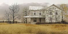 Old Homeplace by Billy Jacobs 22x40